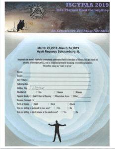 ISCYPAA 2019 @ Hyatt Regency