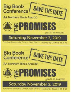 Big Book Conference: The Promises @ Parkview Community Chrch