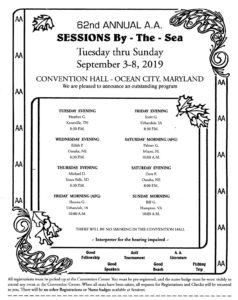 Sessions By the Sea @ Convention Center