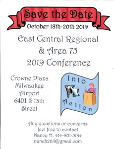 East Central Reginal & Area 75 2019 Conference @ Crown Plaza Milwaukee Airport