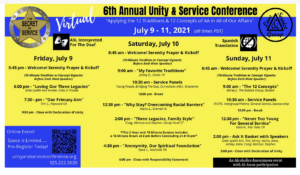 6th Annual Unity & Service Conference — Virtual - Online