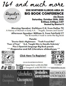 Big Book Conference Zoom